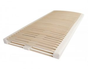 Das Ergovlex DELUXE besticht mit Detailqualität, wie geölten Leisten, Schulter-Komfortzone, LWS-Puffern, die feinste und komfortabelste Art der Unterfederung einer Matratze.